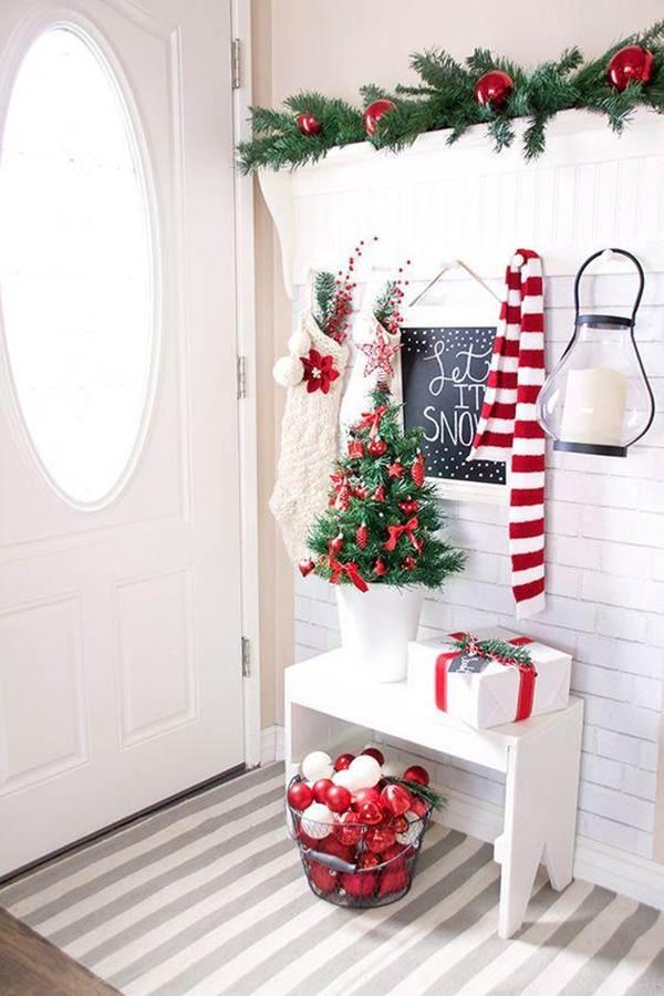 Ideas para decorar tu recibidor en Navidad | Ideas y ...